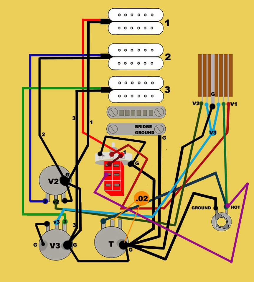 Fender Fat Strat Wiring Diagram 31 Images Double Lespaulupdate Pickup At