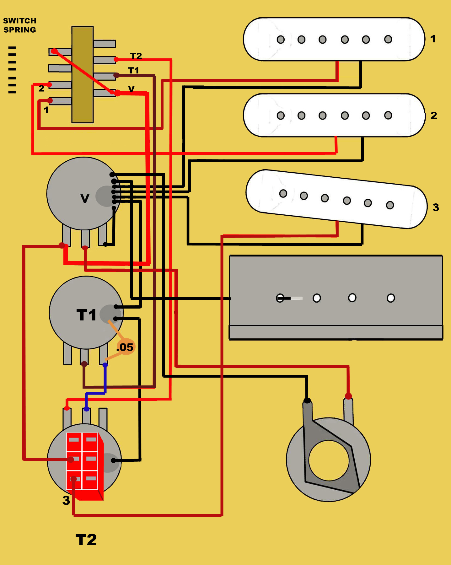 Guitar Wiring Diagram Book : Guitar electronics pickups switch wiring diagrams book